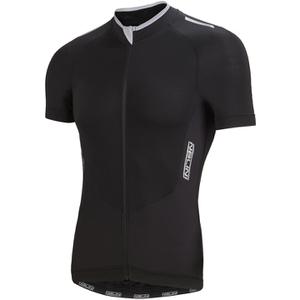 Nalini Graphite Ti Short Sleeve Jersey - Black