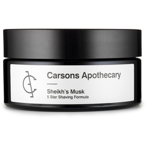 Carsons Apothecary Sheik's Musk Shaving Cream