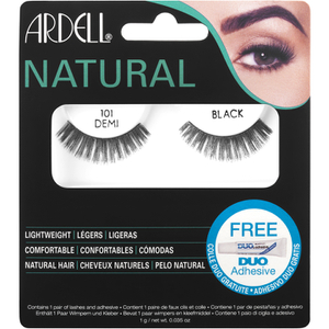 Pestanas Falsas Natural 101 Demi Black da Ardell