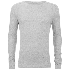 Selected Homme Men's Denton Crew Neck Sweatshirt - Light Grey Melange