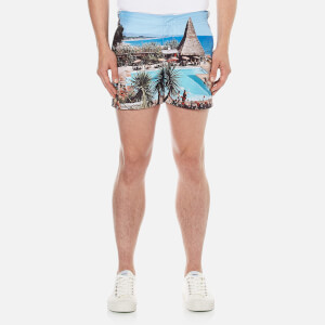 Orlebar Brown Men's Setter Hulton Getty Swim Shorts - Thatching A Plan