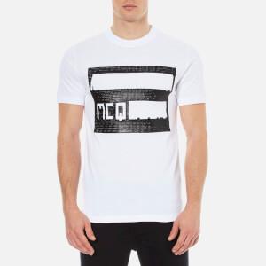 McQ Alexander McQueen Men's McQ Logo Crew T-Shirt - Optic White