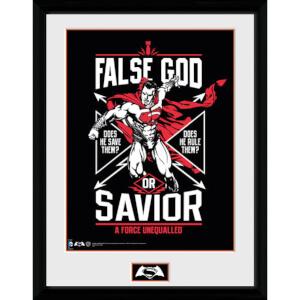 DC Comics Batman v Superman Dawn of Justice False God - 16 x 12 Inches Framed Photographic