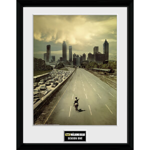 The Walking Dead Season 1 - 16 x 12 Inches Framed Photographic