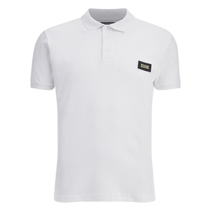 Brave Soul Men's Babylon Polo Shirt - White