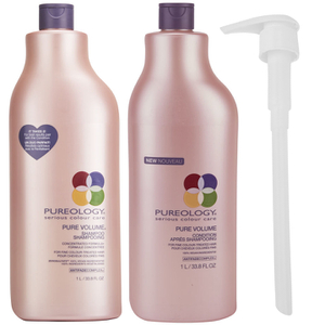 Pureology Pure Volume Shampoo and Conditioner (1000ml)