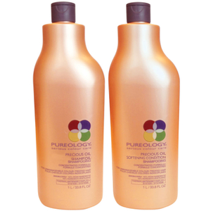 Pureology Precious Oil Shampoo e Conditioner (1000 ml)