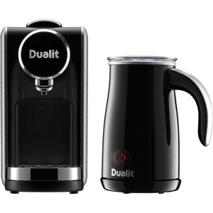 Dualit 85160 Lusso™ Cino Capsule Machine with Milk Frother
