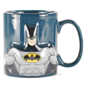 DC Comics Embossed Batman Mug