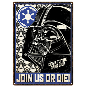 Star Wars Empire Large Tin Sign (29.7cm x 42cm)