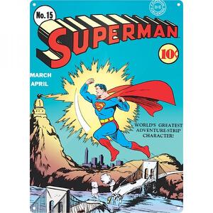 DC Comics Superman Zap Blikken Bord (29.7cm x 42cm)