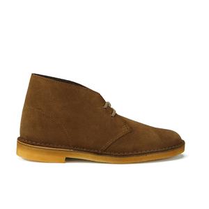 Clarks Originals Men's Desert Boots - Cola Suede