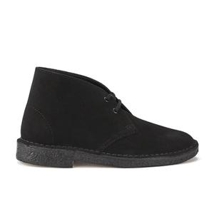Clarks Originals Women's Suede Desert Boots - Black