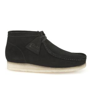 Clarks Originals Men's Wallabee Boots - Black Suede