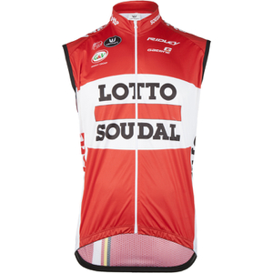 Lotto Soudal Kaos Gilet 2016 - Red/White