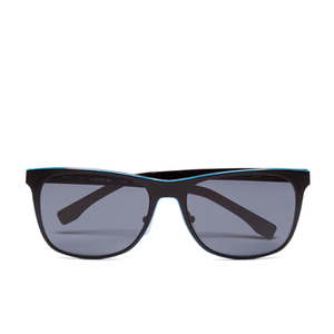 Lacoste Men's Rectangle Sunglasses - Black Matt