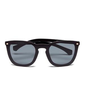 Calvin Klein Jeans Unisex Oversized Sunglasses - Black