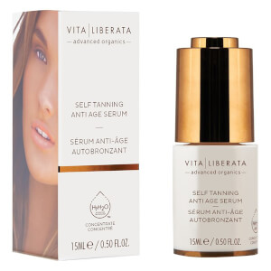 Vita Liberata Anti-Ageing Self Tanning Serum -itseruskettava anti-age-kasvoseerumi (15ml)