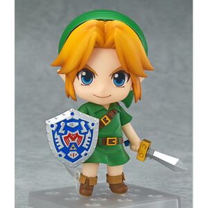 The Legend of Zelda Majora's Mask 3D Figura Nendoroid Link Majora's Mask 3D Ver.