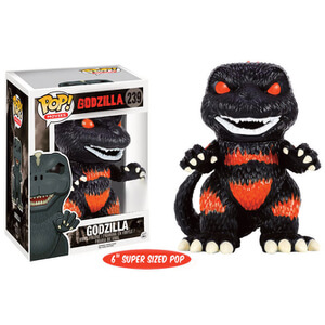 "Godzilla Fire Version Limited Edition 6"""" Oversized Pop! Vinyl Figure"