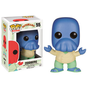 Futurama Alt Universe Limited Edition Blue Zoidberg Funko Pop! Figur