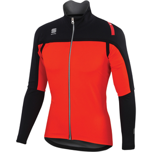 Fiandre Extreme Neoshell Short Sleeve Jersey - Red/Black
