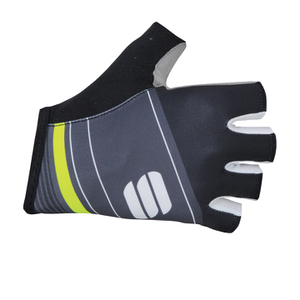 Sportful Gruppetto Pro Gloves - Black/Grey/Yellow