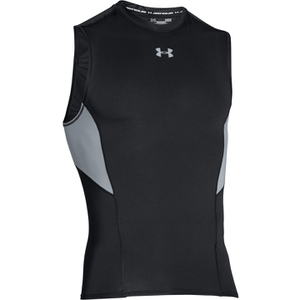 Under Armour Men's HeatGear CoolSwitch Compression Tank Top - Black