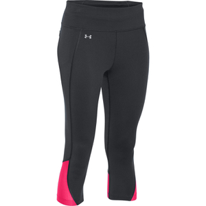 Under Armour Women's Fast Forward 2.0 Run Capri - Black/Pink