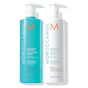 Moroccanoil Smoothing Shampoo & Conditioner Duo (2x500ml) (Worth £77.80)