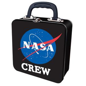 Boîte à Déjeuner en métal NASA -Noir
