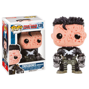 Figurine Pop! Crossbones Démasqué Captain America Civil War
