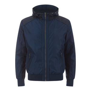 Smith & Jones Men's Skyhigh Windbreaker Jacket - Navy Blazer