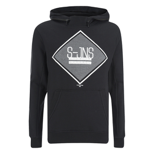 Smith & Jones Men's Cincture Hoody - Black