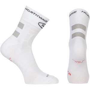 Northwave Evolution Air 12cm Cuff Socks - White