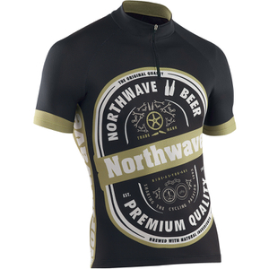 Northwave Beer Short Sleeve Jersey - Black/White