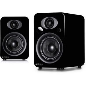 Steljes Audio NS3  Bluetooth Duo Speakers  - Coal Black