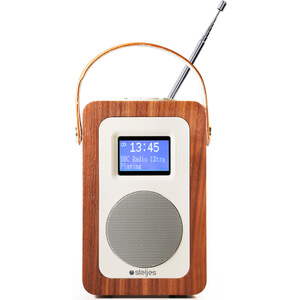 Steljes Audio SA20 Bluetooth Portable Radio (DAB/DAB+/FM) - Walnut