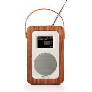 Steljes Audio SA60 Bluetooth DAB+ Portable Wi-Fi Radio (DAB/DAB+/FM) - Walnut
