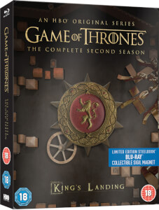 Game Of Thrones - Complete Second Season Limited Edition Steelbook (UK EDITION)