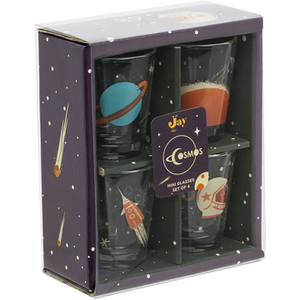 Cosmos Shot Glasses (Set of 4)