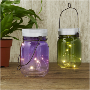 Solar Fairy Jars (Set of 2)