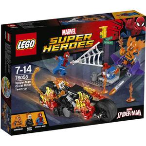LEGO Superheroes: Spider-Man : l'équipe de Ghost Rider (76058)