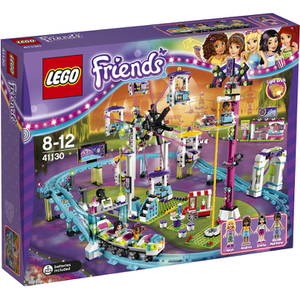 LEGO Friends: Les montagnes russes du parc d'attractions (41130)