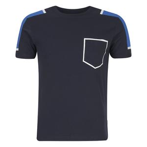 Jack & Jones Men's Core Block T-Shirt - Navy Blazer