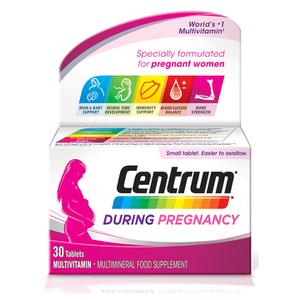 Centrum During Pregnancy Tablets (30 Tabletten)