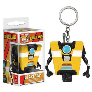 Borderlands Claptrap Pocket Pop! Key Chain