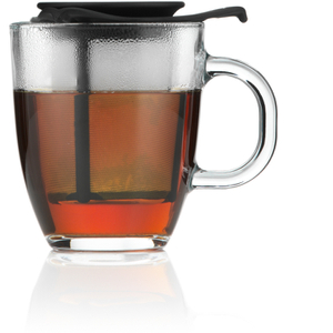 Bodum Yo Yo Set Mug And Tea Infuser - Black