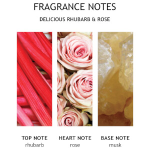 Molton Brown Rhubarb and Rose Single Wick Candle 180g: Image 6