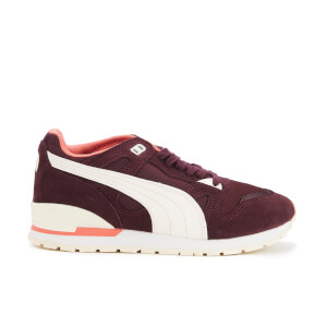 Puma Women's Duplex Classic Trainers - Winetasting/Whisper White